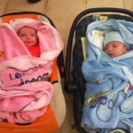 twin ivf baby